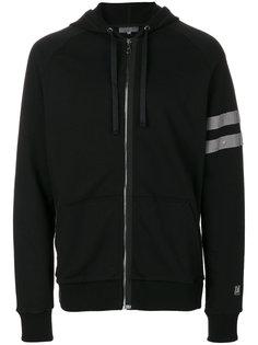 distressed hooded sweatshirt Lanvin