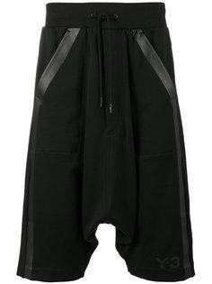 шорты с заниженным шаговым швом  Y-3
