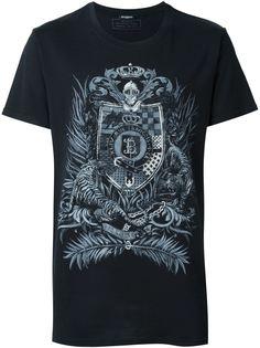 футболка с принтом  Balmain