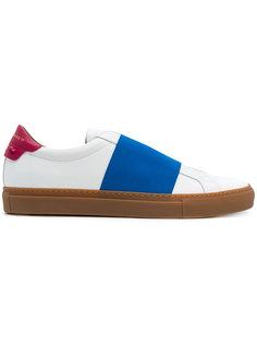 кроссовки с контрастной панелью Givenchy