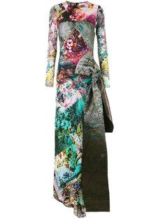 вечернее платье с цветочным рисунком A.F.Vandevorst