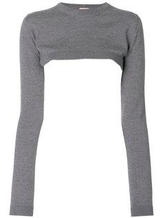 укороченный свитер  Nº21