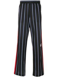 полосатые спортивные брюки MSGM