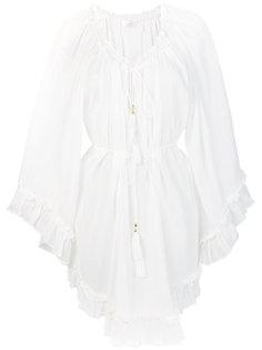 короткое платье с оборками Zimmermann