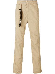 брюки удлиненным поясом Sacai