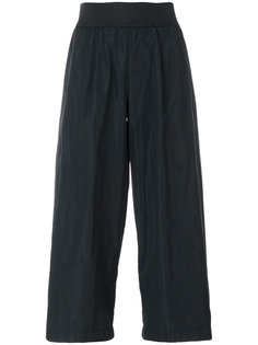 укороченные широкие брюки Maria Calderara
