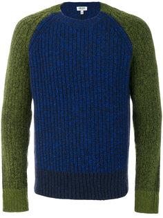 свитер с контрастными рукавами Kenzo