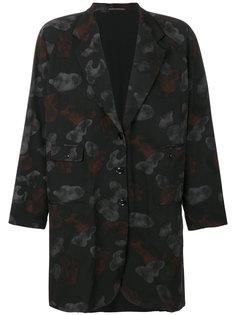 пиджак свободного кроя Yohji Yamamoto