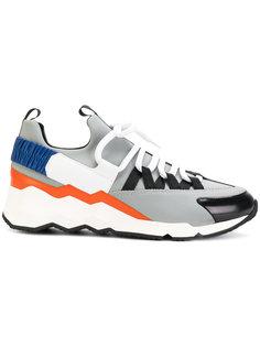 кроссовки с панельным дизайном Pierre Hardy