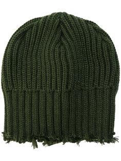 шапка в рубчик Yohji Yamamoto