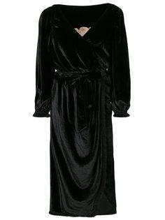 платье с драпировкой Braima Maria Lucia Hohan