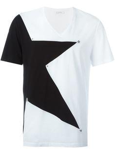 футболка с принтм звезды  Versace Collection