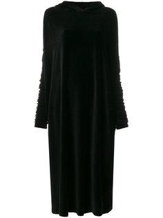 бархатное платье-толстовка  Barbara Bologna
