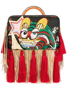 сумка с бахромой Bon-Bon Tiger The Volon