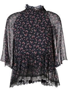 блузка с цветочным узором See By Chloé