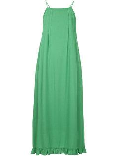 платье с контрастным воротником  Cityshop