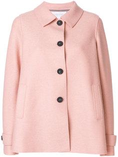 single breasted short coat Harris Wharf London