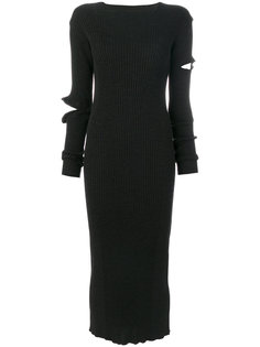 платье с разрезом на рукаве  Ports 1961