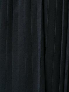 плиссированная юбка с пряжками сбоку  Toga Pulla