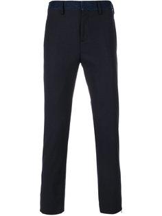 брюки с джинсовой панелью Neil Barrett