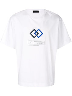 футболка с графическим принтом Diesel Black Gold