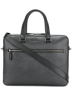 текстурированная сумка для ноутбука Salvatore Ferragamo