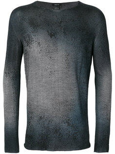 пуловер с принтом брызг краски Avant Toi