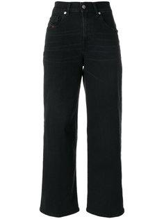укороченные широкие брюки  Diesel