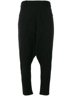 брюки с заниженным шаговым швом  Nostra Santissima