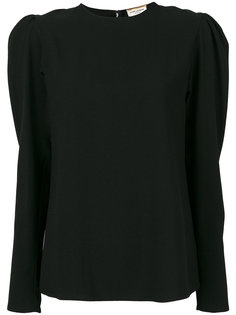 рубашка с круглым вырезом  Saint Laurent