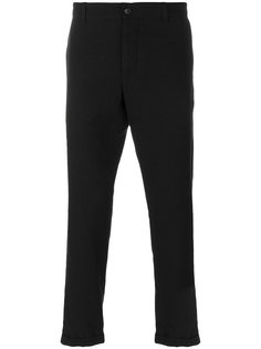 классические укороченные брюки Ann Demeulemeester