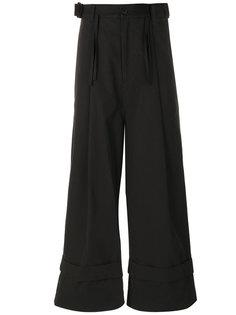 широкие брюки со складками спереди Craig Green