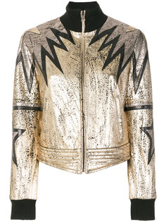 куртка-бомбер металлик  Just Cavalli