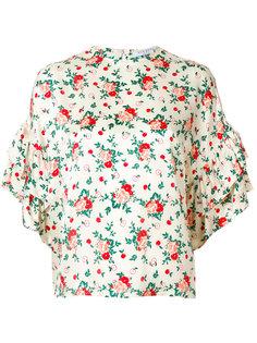 блузка с цветочным принтом Vivetta