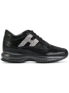 декорированный кроссовки H Hogan