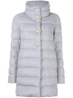 пальто с кнопочной застежкой Herno