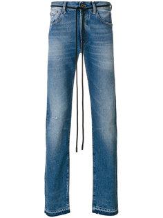 джинсы кроя скинни Diag Off-White