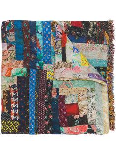 шарф с лоскутным принтом Faliero Sarti