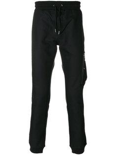 зауженные брюки с карманом на молнии Diesel Black Gold