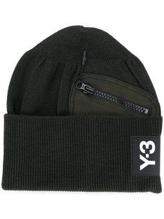 шапка с нашивкой логотипа Y-3