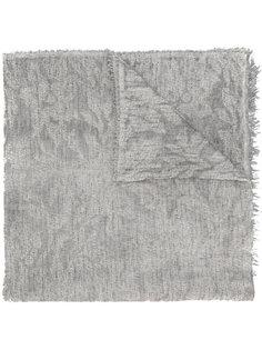трикотажный шарф с бахромой Eleventy