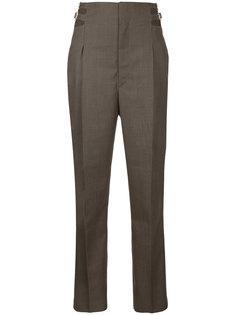 брюки с завышенной талией и пряжками  Toga Pulla