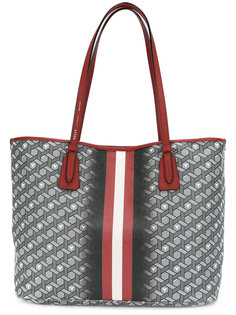 сумка-тоут с геометрическим принтом Bally