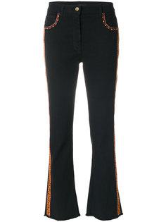 укороченные джинсы  Etro