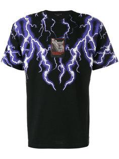 футболка с принтом молний Alexander Wang