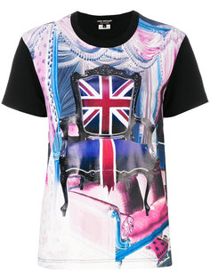 футболка с логотипом British Junya Watanabe Comme Des Garçons
