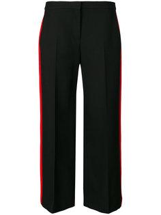 укороченные брюки с полосками  Alexander McQueen