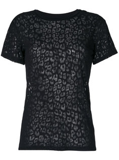 полупрозрачная футболка Diesel