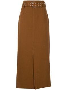 юбка с завышенной талией и поясом  G.V.G.V.