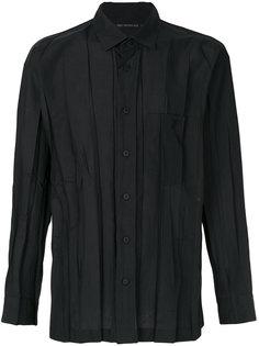 crease effect shirt Issey Miyake Men